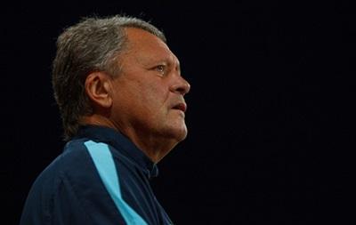 Маркевич отсутствовал на матче Днепра с Олимпиком