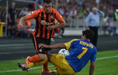 В матче с Тернополем Луческу задействовал 7 воспитанников Шахтера
