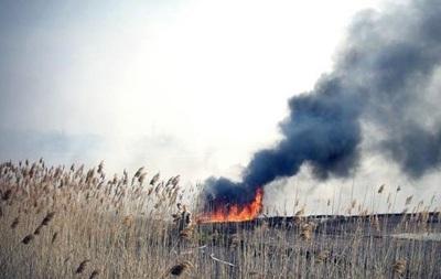 Один из районов Одессы окутал дым