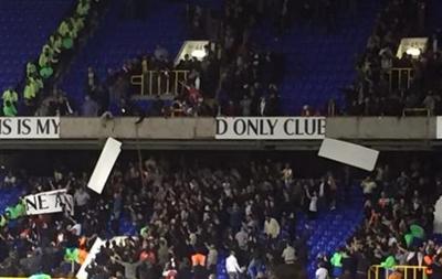 Варвары: Фанаты Арсенала начали ломать стадион Тоттенхэма после дерби