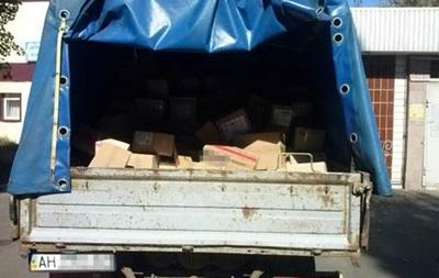 В ДНР не пропустили бытовых товаров на 400 тысяч гривен