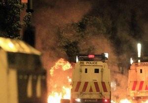 В Северной Ирландии произошли беспорядки на религиозной почве