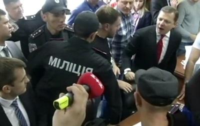Ляшко устроил драку с прокурорами Мосийчука