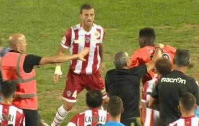 Игрок Аяччо дисквалифицирован на 16 месяцев за драку
