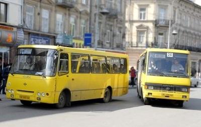В Киеве подрались водители автобуса и маршрутки