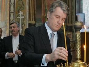 Ющенко поздравил католиков с Пасхой