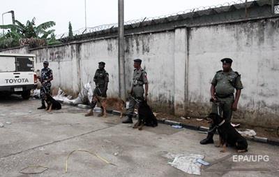 Вооруженные люди напали на полицейский участок в Нигерии