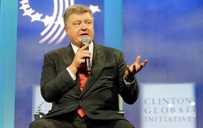 Порошенко назвал потери Украины из-за конфликта в Донбассе