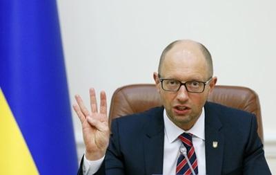 Яценюк назвал условия мира в Донбассе и проведения выборов регионе