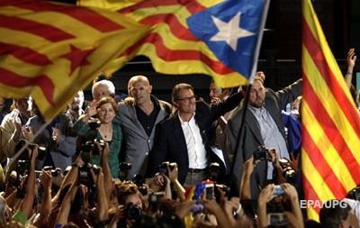 Сторонники независимости Каталонии получают 62 кресла в парламенте