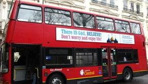 Лондонские верующие ответили атеистам: на автобусах появились надписи  Бог есть