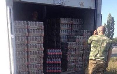 В ДНР пытались провезти напитки и сигареты на 1,5 миллиона гривен