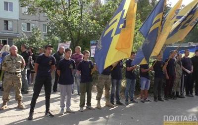 Суд над Кернесом: к зданию прибывают активисты 'Азова'