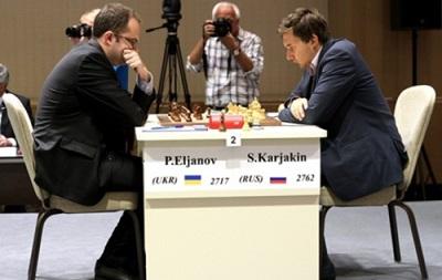 Шахи: Українець Ельянов зіграв внічию другу партію півфіналу Кубка світу