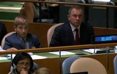 Появление в ООН сына Лукашенко позабавило соцсети