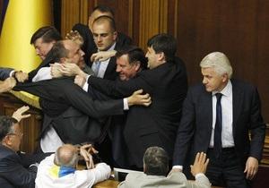 Литвин предложил распустить парламент