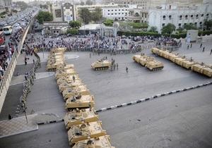 В центре Каира введен комендантский час после беспорядков