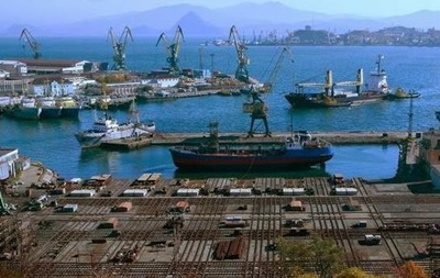 В российском порту бастуют украинские моряки