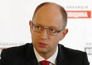 Яценюк: Демократическое большинство в Раде под вопросом. И это очень досадно
