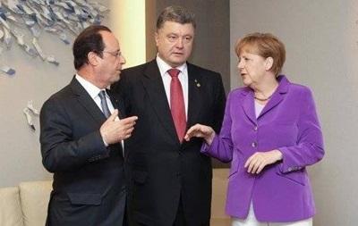 Перед встречей с Путиным Порошенко созвонился с лидерами ЕС