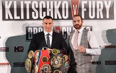 Тайсон Фьюри: Владимиру Кличко разрешили боксировать 28 ноября