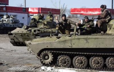 В ЛНР рассказали, с каких территорий отведут танки