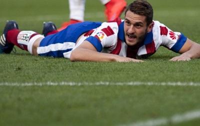 Коке не поможет Атлетико в дерби с Реалом