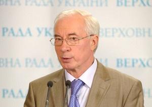 Азаров обещает к визиту Медведева подготовить широкий спектр контрактов с Россией
