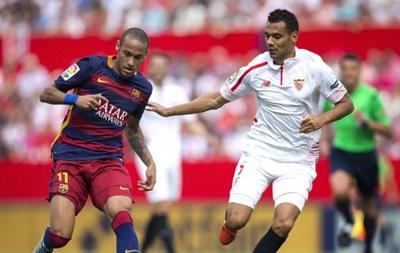 Севилья нанесла Барселоне второе поражение в сезоне