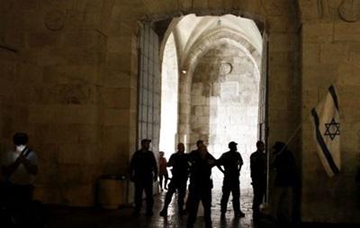 Израиль ограничивает доступ в Старый город Иерусалима
