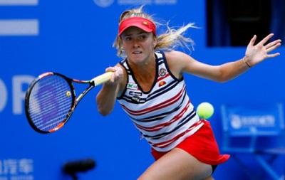 Свитолина пробилась во второй раунд турнира в Пекине