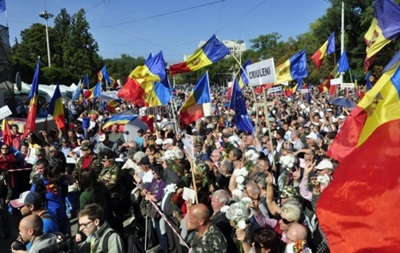 В Кишиневе протестующие решили создать  Народную гвардию
