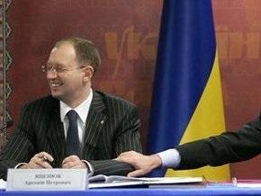 Яценюк назвал Ющенко своим конкурентом