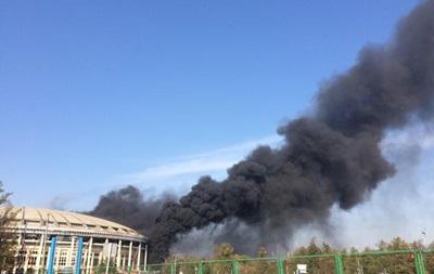 Пожар на российском стадионе Лужники ликвидирован