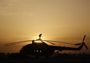 В Чечне обстрелян вертолет внутренних войск России