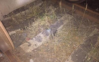 На железной дороге в Харьковской области подорвали цистерну с топливом