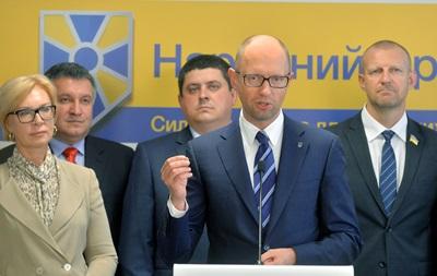 СМИ рассказали о бизнес-группах и коррупции в партии Яценюка