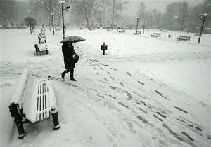 Из Киева за зиму вывезли 95 тысяч тонн снега