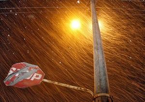 Непогода в Украине: В десяти областях Украины обесточены 488 населенных пунктов