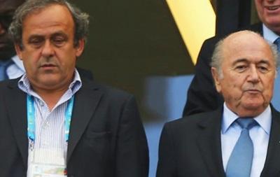 Блаттера отстранили от поста президента FIFA на 90 дней