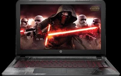 HP выпустила ноутбуки для геймеров Star Wars Special Edition