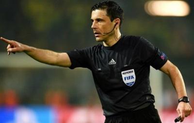 Решающий матч Украины в отборе на Евро-2016 будет судить арбитр из Сербии
