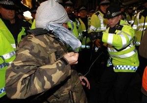 Полиция арестовала 75 участников акции протеста в Лондоне