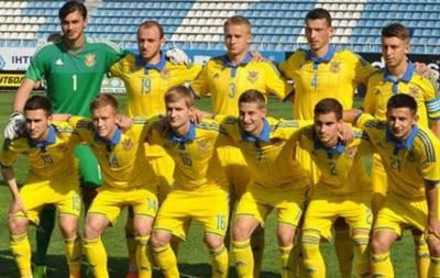 Молодежная сборная Украины уступила исландцам в матче квалификации Евро-2017