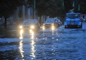 Фотогалерея: Капитаны ближнего плаванья. Большой августовский потоп в Киеве
