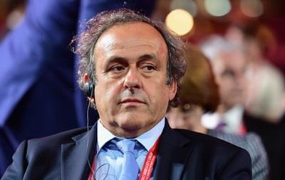 Платини получил поддержку Франции