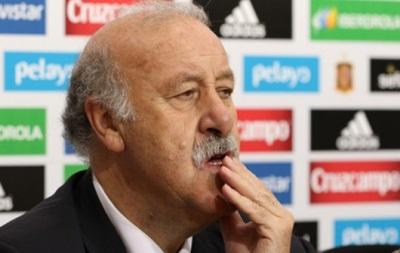 Дель Боске: Сборная Украины не заслуживала поражение от Испании в первом матче