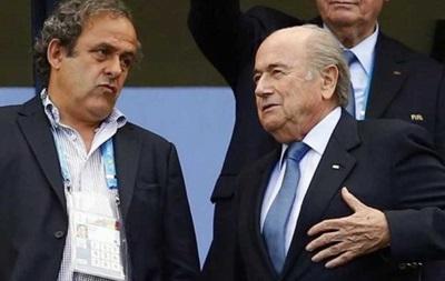 Блаттера и Платини могут пожизненно отстранить от футбола