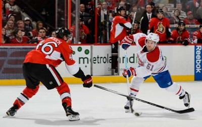NHL: Монреаль смог обыграть Оттаву