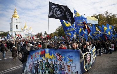 Украина впервые отмечает День защитника отечества